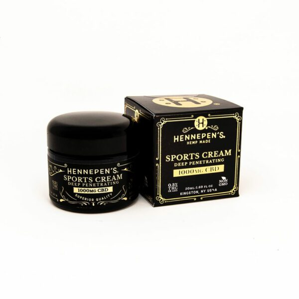 Hennepen's Sports Cream Topical